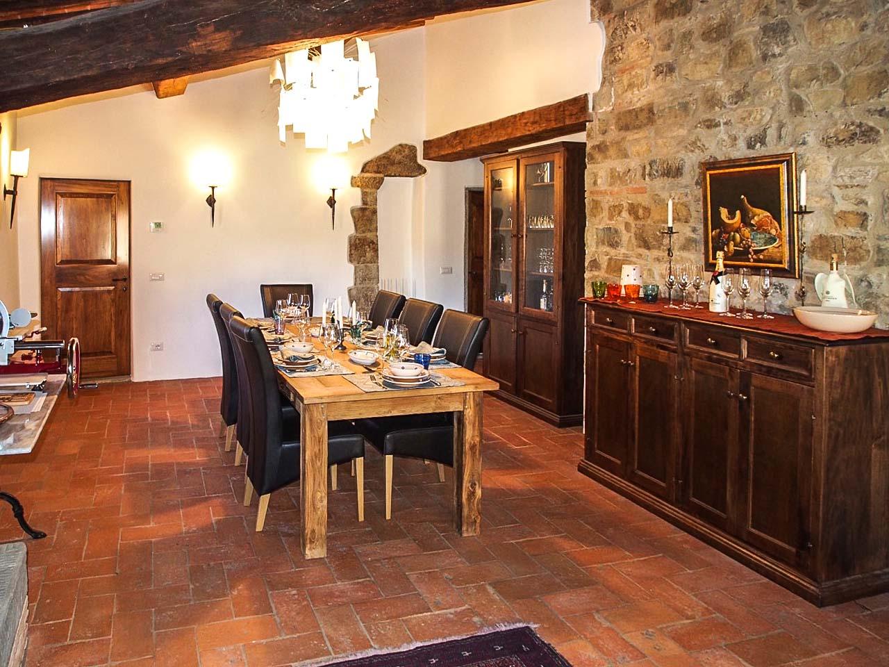 Mobili Per Camera Da Pranzo sala da pranzo rustica - lorenzini mobili